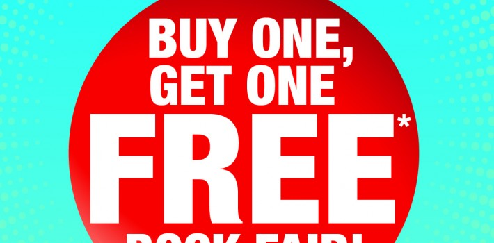 BOGO Book Fair!