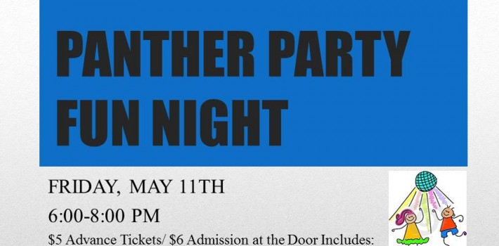 Panther Party Fun Night